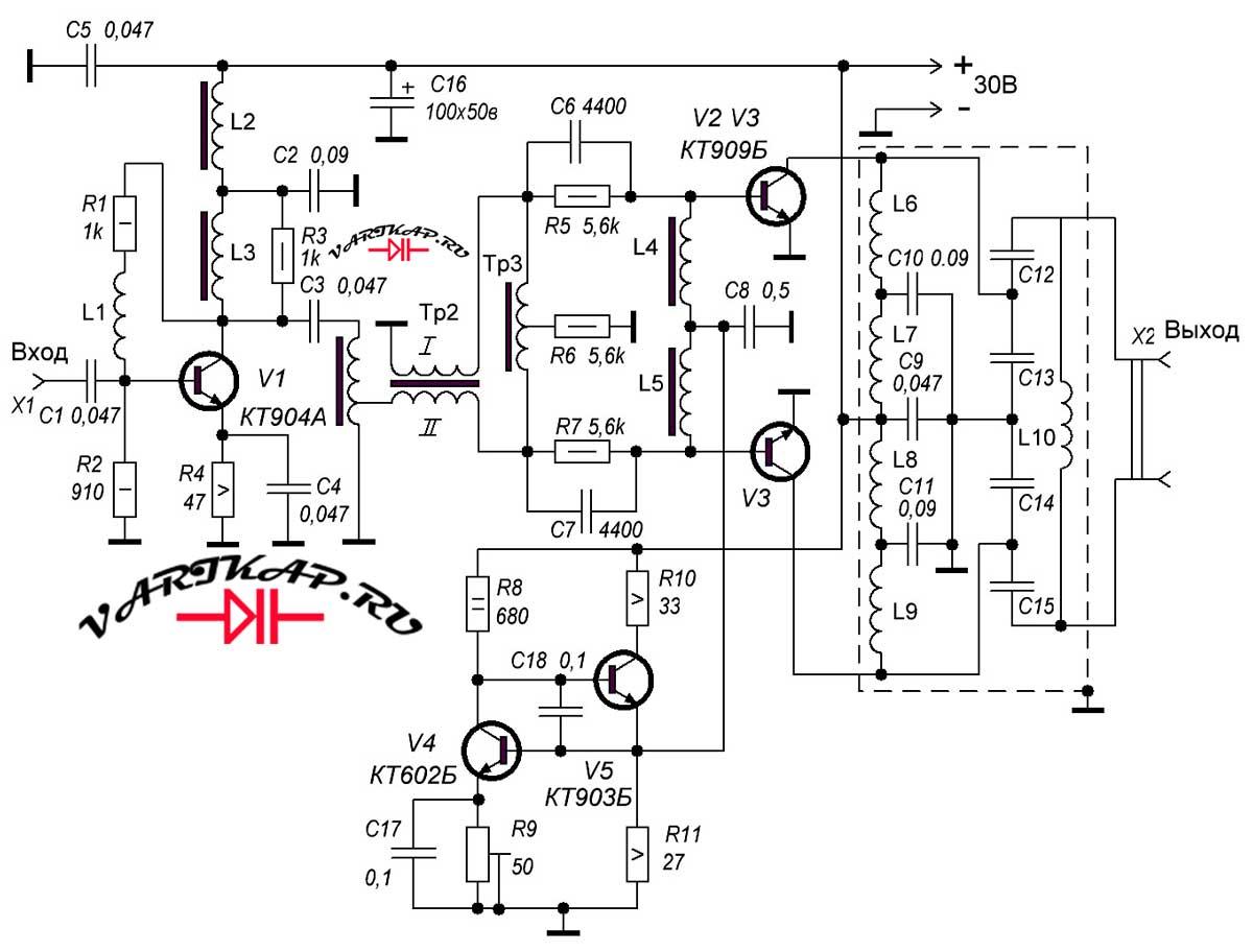 схема усилителя на кт80бм термобелье, обратите