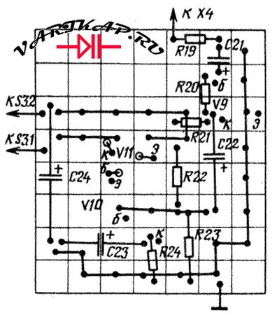 модулятор передатчика печатка