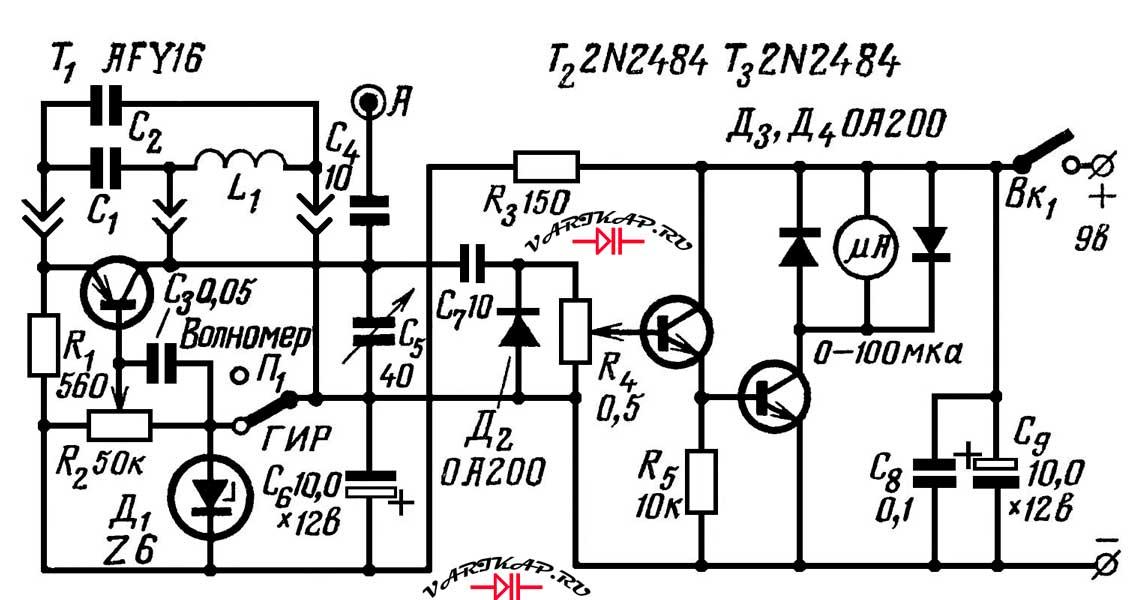 Транзисторный ГИР