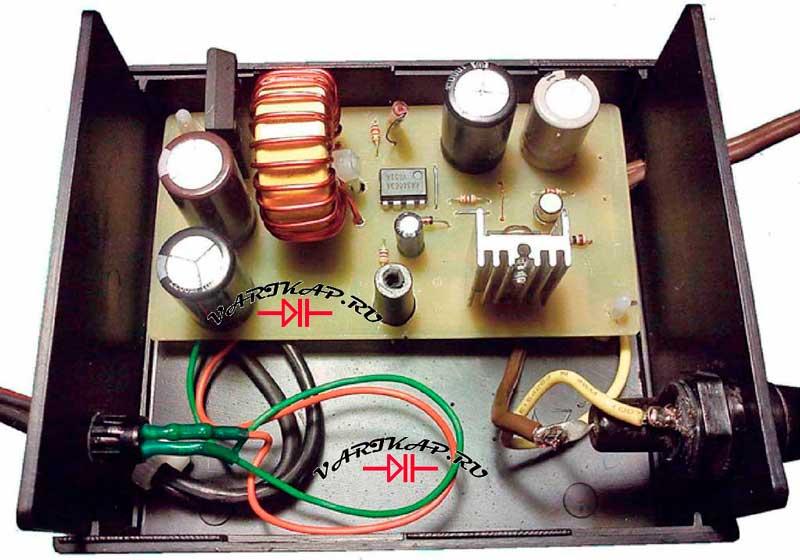 Источник 5 вольт 10 ампер