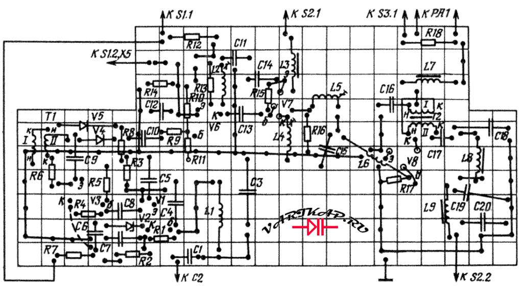 основная печатка передатчика