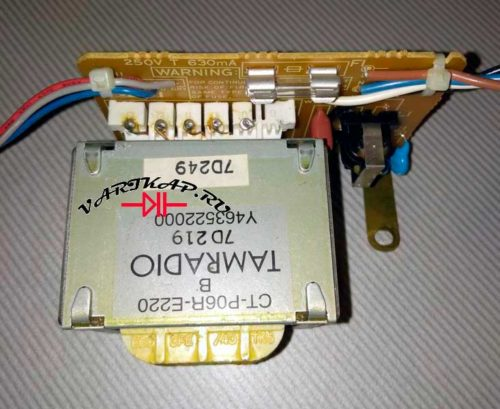 трансформатор на ш-образном сердечнике