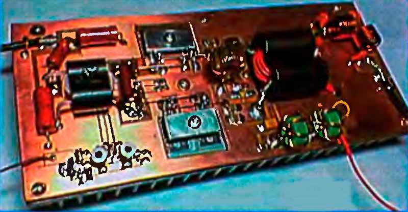 Конструкция одного из вариантов транзисторный КВ усилитель мощности