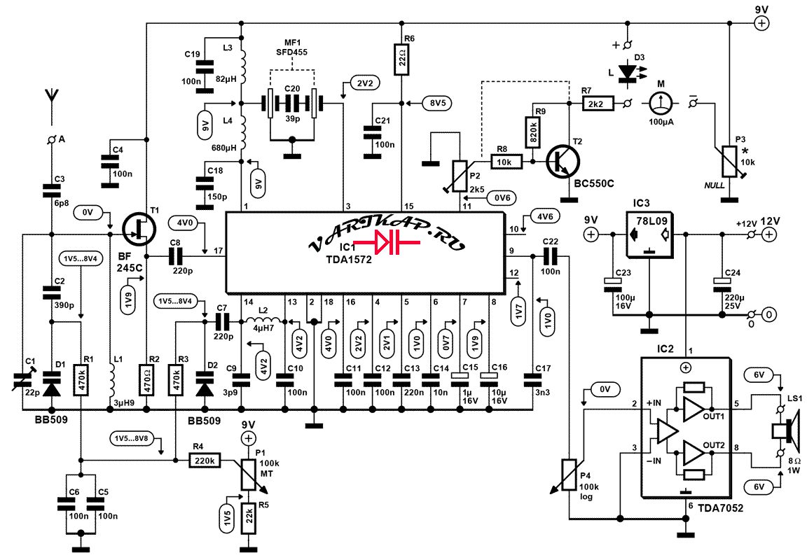 Коротковолновый радиоприемник