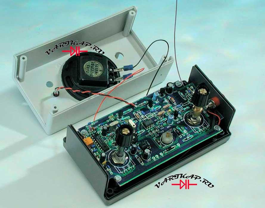 Ам приемник на диапазон 0 до 1,8 МГц