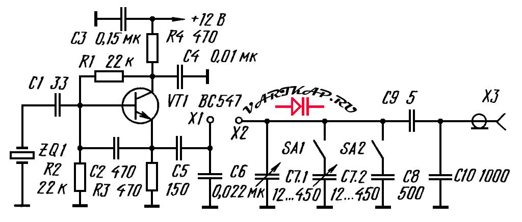 Простой Q-метр