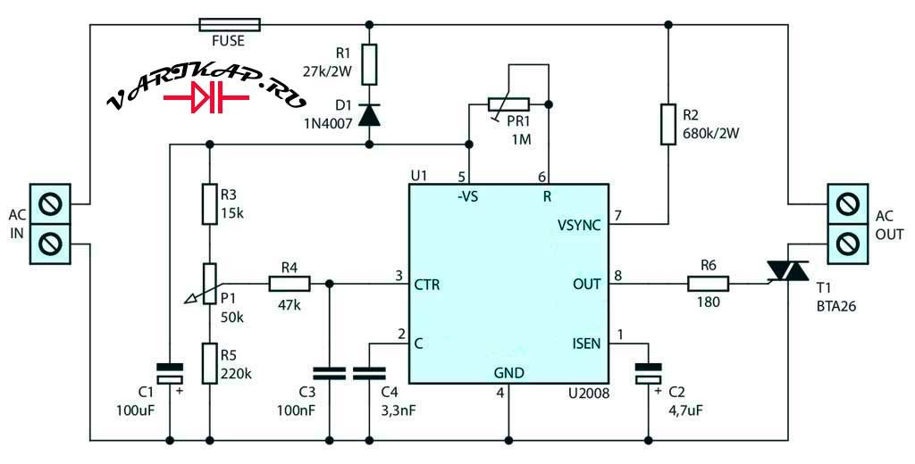 Регулятор напряжения переменного тока