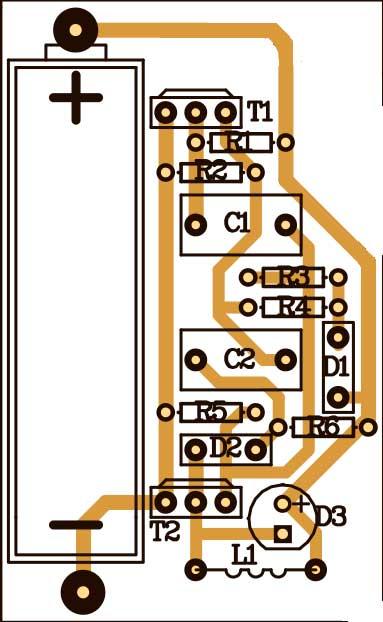 печатная плата тестер никель-кадмиевых батарей