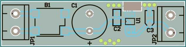 печатная плата зарядное устройство Li-Ion