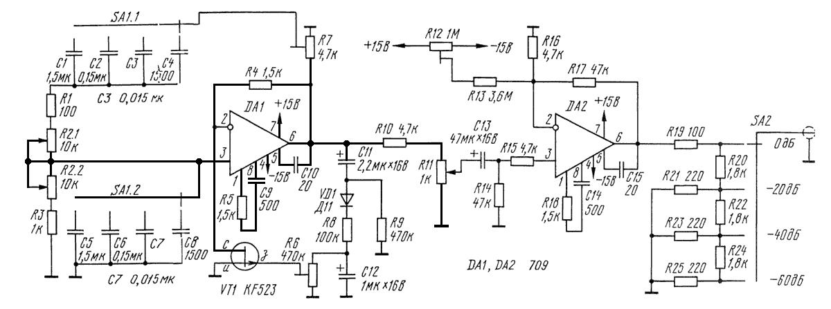 Синусоидальный генератор