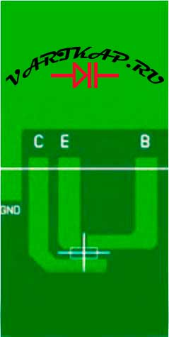 Площадка под транзистор