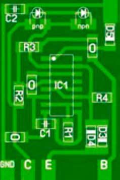 Печатная плата SMD Транзисторный тестер