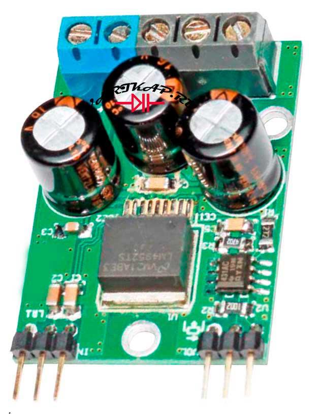 Миниатюрный усилитель мощности на LM4952