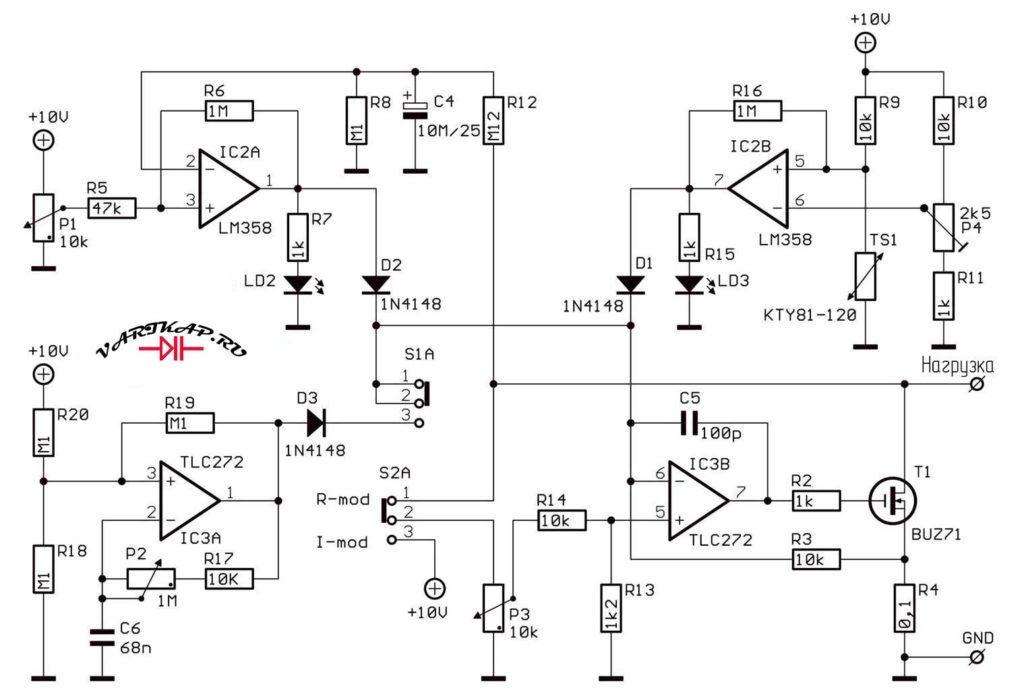 Электронная нагрузка в хозяйстве радиолюбителя