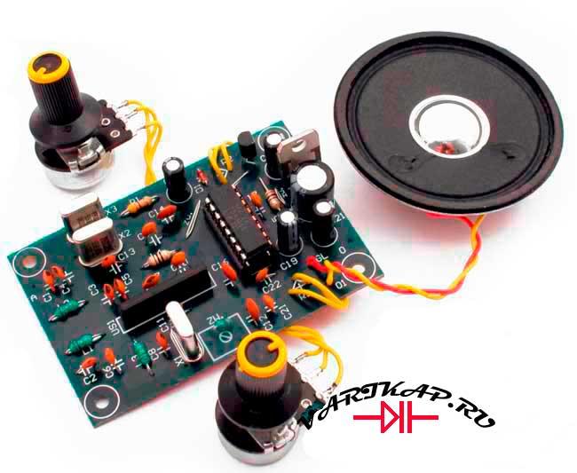 Радиоприемник на 27Мгц 19 канал