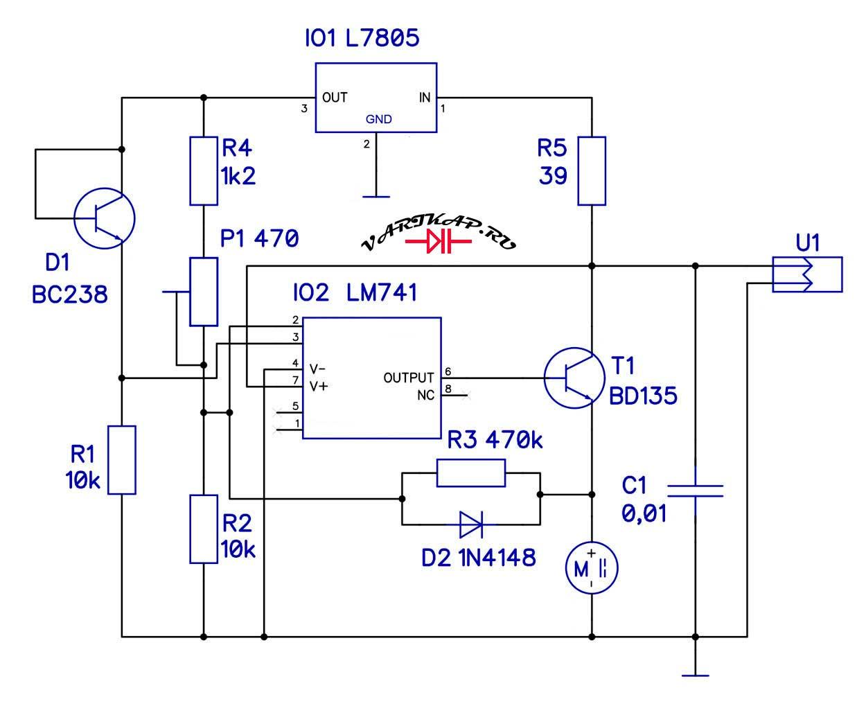 Универсальный регулятор вентилятора охлаждения