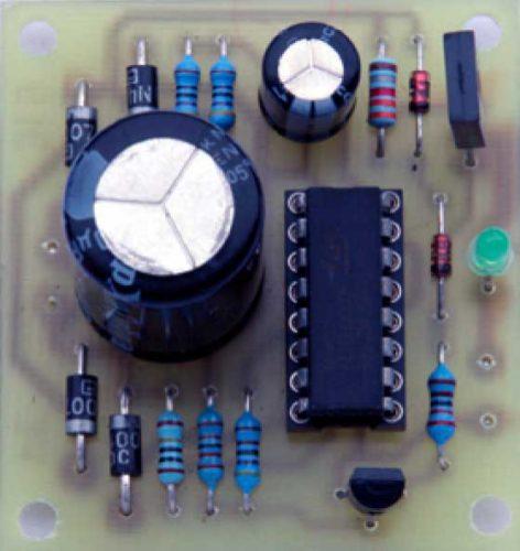 Импульсное зарядное устройство никель-кадмиевых батарей