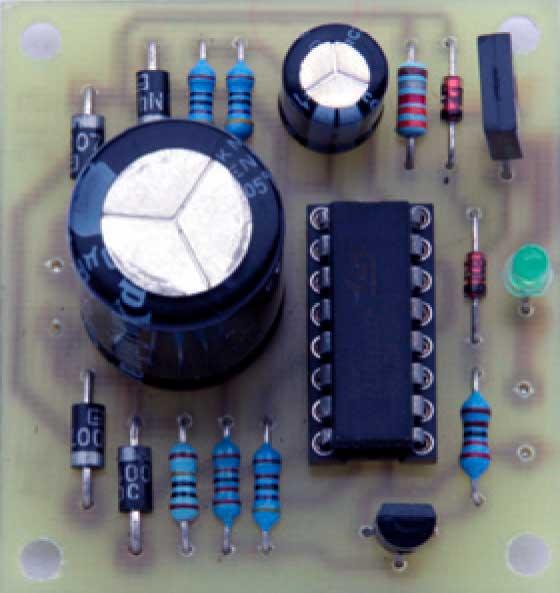 Вид платы импульсное зарядное устройство никель-кадмиевых батарей