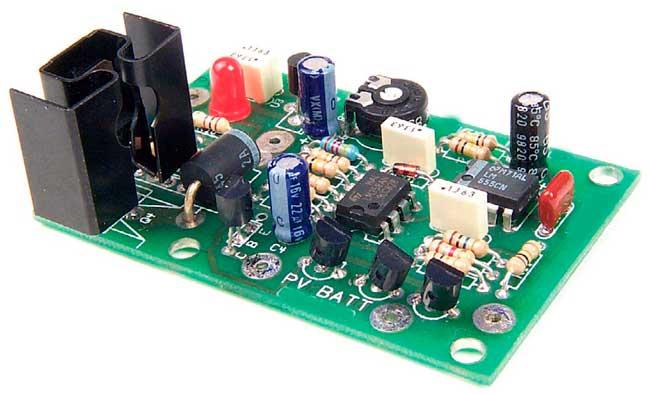 Зарядное устройство от солнечных панелей