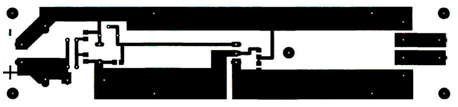 Разводка печатной платы стабилизированный блок питания на 5 или 12В