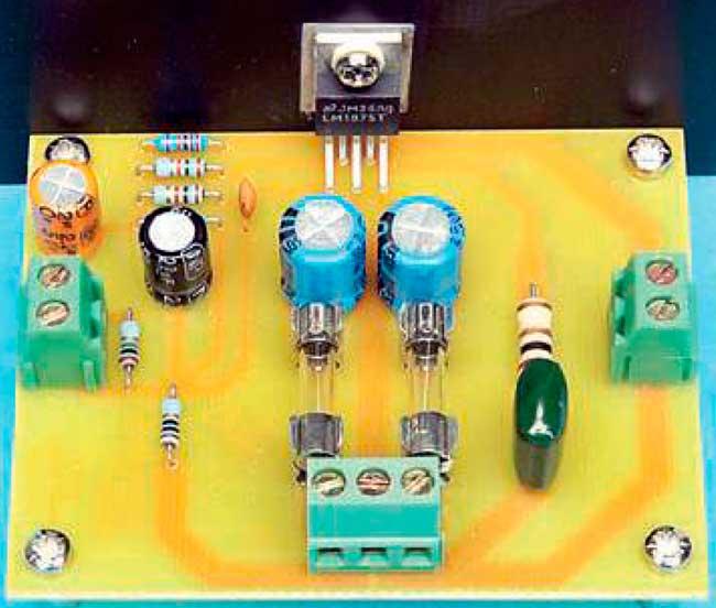 Усилитель мощности на микросхеме LM1875T