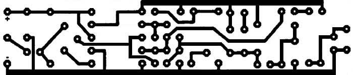 Разводка печатной платы мини-передатчик с частотной модуляцией