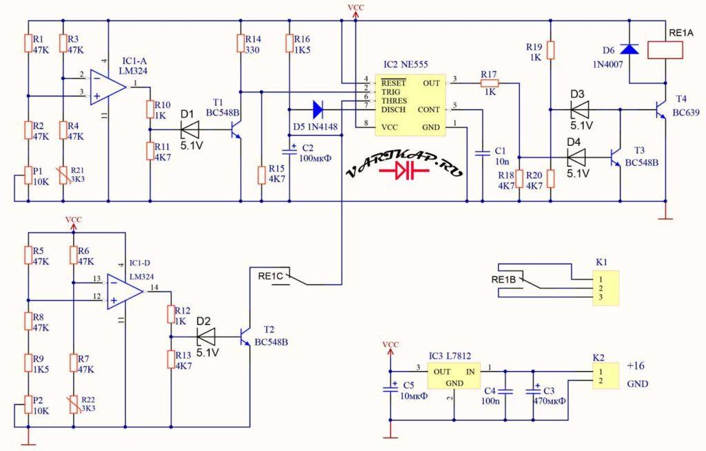 Регулятор температуры для нагревателя