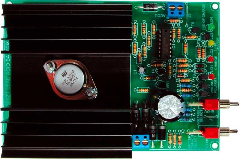 Зарядное устройство свинцовых аккумуляторов