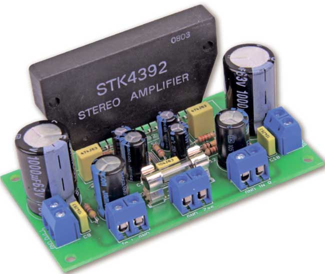 Усилитель на сборке STK4392